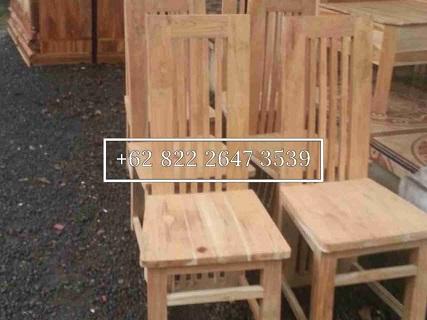 kursi makan balero kayu jati