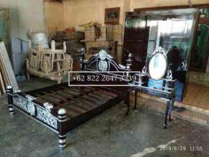 Kamar Set Furniture, Tempat Tidur, Meja Rias, Lemari, Kayu Jati, Mebel Jepara