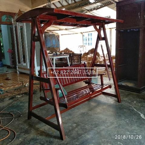 Ayunan Jati, Ayunan Taman Rumah, Outdoor Furniture