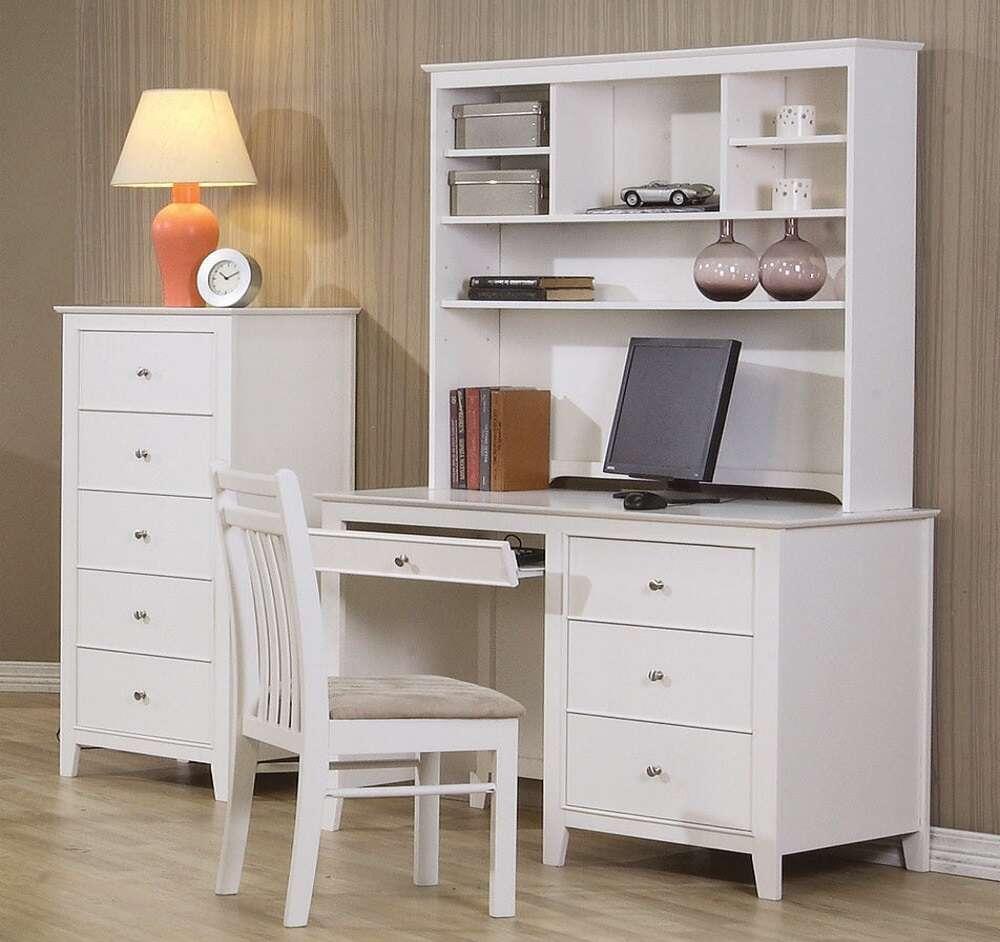 meja belajar, meja anak, table desk, meja belajar anak finishing duco putih